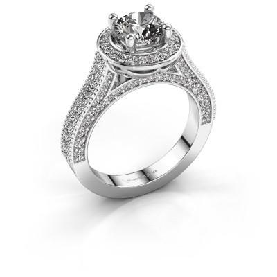 Foto van Verlovingsring Joelle 585 witgoud diamant 2.027 crt