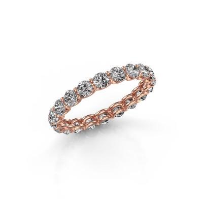 Foto van Ring Kristen 2.9 375 rosé goud lab-grown diamant 1.90 crt
