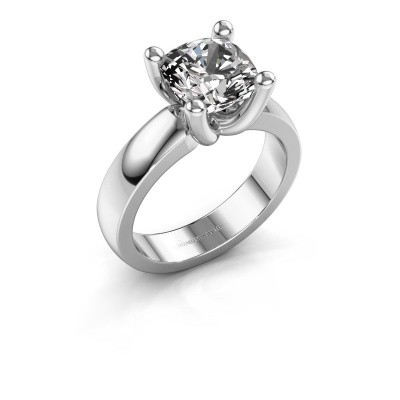 Ring Clelia CUS 925 silver diamond 3.60 crt