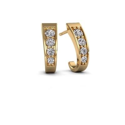 Bild von Ohrringe Glady 585 Gold Diamant 0.51 crt