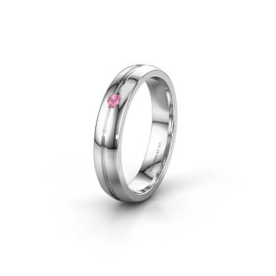 Ehering WH0424L24A 925 Silber Pink Saphir ±4x1.7 mm