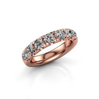 Vorsteckring Jackie Half 375 Roségold Diamant 1.75 crt