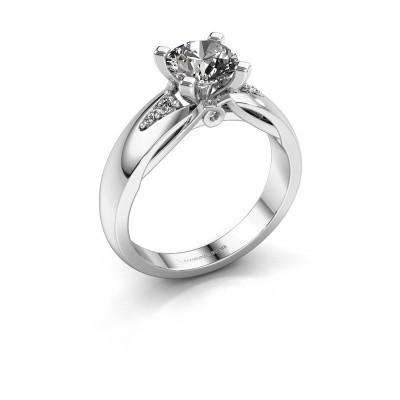 Foto van Verlovingsring Ize 585 witgoud lab-grown diamant 1.08 crt