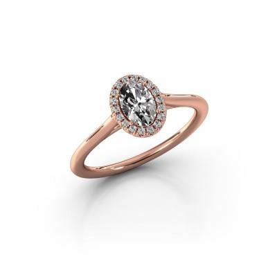 Bild von Verlobungsring Seline 1 375 Roségold Diamant 0.59 crt