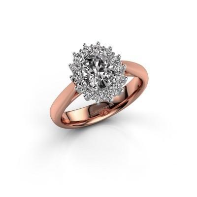 Foto van Verlovingsring Margien 1 585 rosé goud lab-grown diamant 0.80 crt