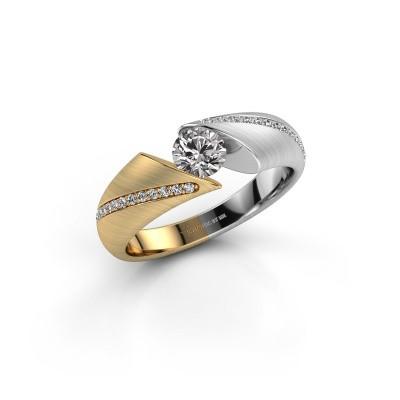 Photo de Bague Hojalien 2 585 or jaune diamant 0.52 crt