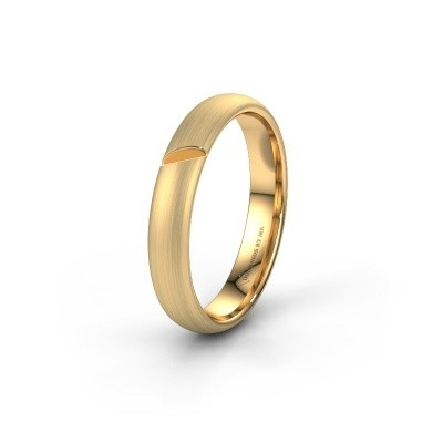 Wedding ring WH0176M34AP 375 gold ±0.16x0.07 in