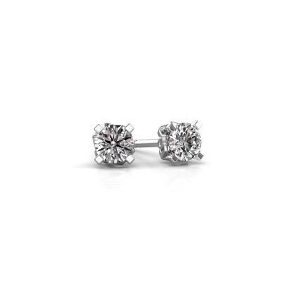 Picture of Earrings Ize 585 white gold lab-grown diamond 1.00 crt