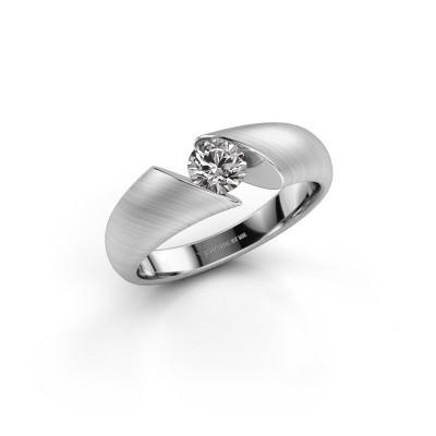Foto van Verlovingsring Hojalien 1 950 platina diamant 0.40 crt