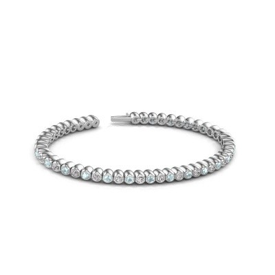 Picture of Tennis bracelet Patrica 585 white gold lab-grown diamond 2.75 crt
