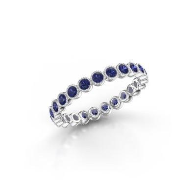 Picture of Ring Mariam 0.03 950 platinum sapphire 2 mm