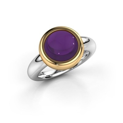 Picture of Ring Jenae 585 white gold amethyst 10 mm