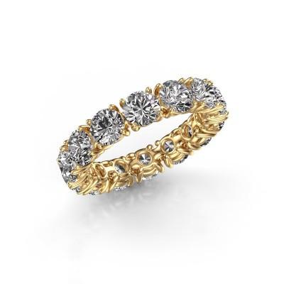 Foto van Ring Vivienne 4.7 375 goud lab-grown diamant 5.60 crt