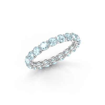 Picture of Ring Kirsten 2.9 585 white gold aquamarine 2.9 mm