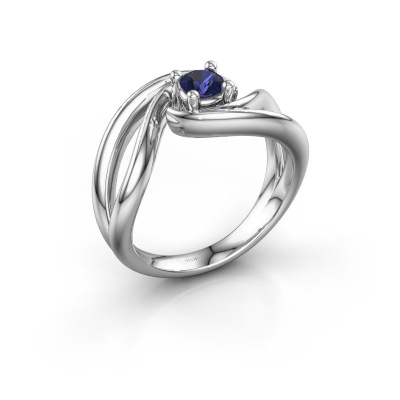 Ring Kyra 950 platinum sapphire 4 mm