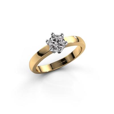 Engagement ring Luna 1 585 gold diamond 0.30 crt