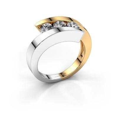 Foto van Ring Gracia 585 goud diamant 0.75 crt