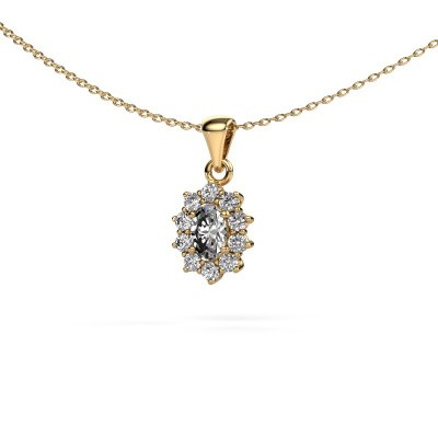 Picture of Necklace Leesa 375 gold diamond 0.80 crt