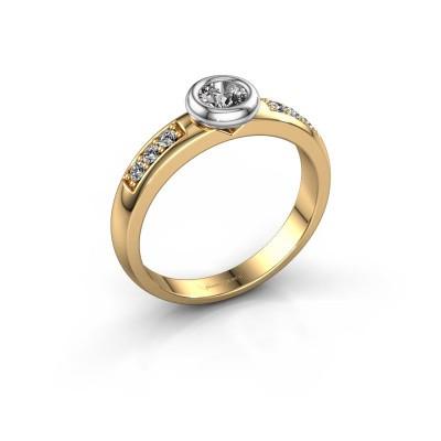 Foto van Verlovingsring Lieke 585 goud diamant 0.37 crt