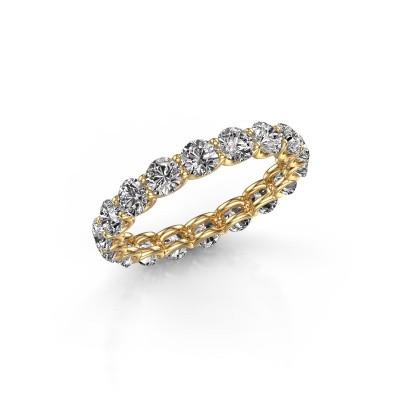 Bild von Ring Kirsten 3.4 375 Gold Lab-grown Diamant 2.700 crt