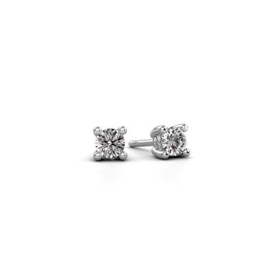Foto van Oorstekers Sam 950 platina diamant 0.25 crt