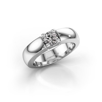Picture of Engagement ring Rianne 1 585 white gold diamond 0.50 crt