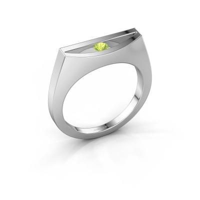 Ring Milou 950 platinum peridot 3 mm