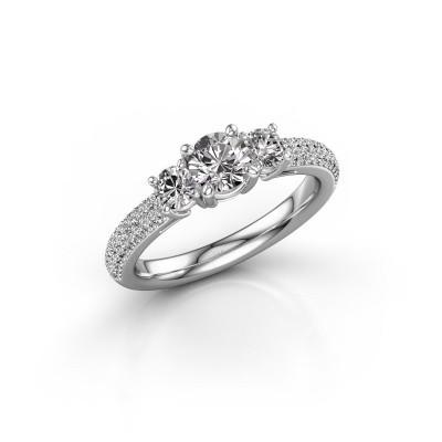 Foto van Verlovingsring Marielle RND 925 zilver lab-grown diamant 1.17 crt