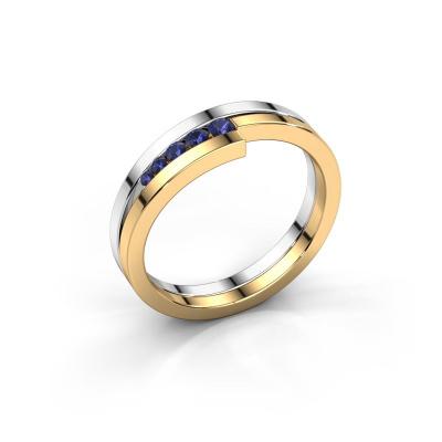 Ring Cato 585 Weißgold Saphir 2.2 mm