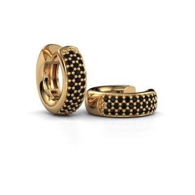 Bild von Creole Lana 375 Gold Schwarz Diamant 0.48 crt