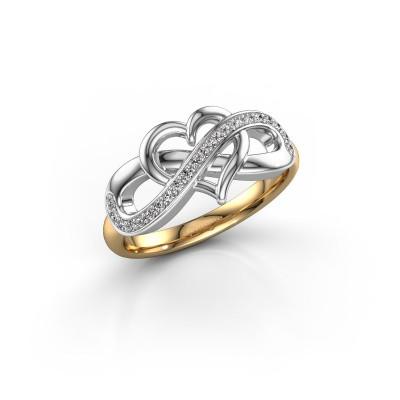 Foto van Ring Yael 585 goud diamant 0.147 crt
