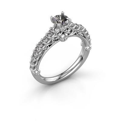 Verlovingsring Shaunda 950 platina diamant 0.90 crt