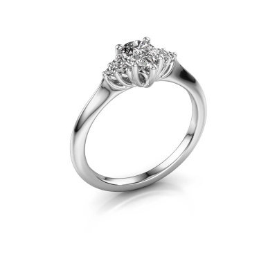 Verlobungsring Felipa per 950 Platin Diamant 0.579 crt
