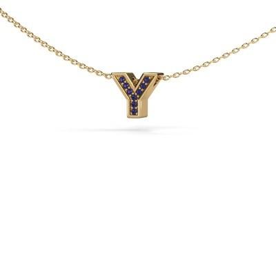 Initial pendant Initial 140 585 gold