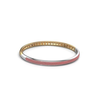 Armband Emely 5mm 585 goud robijn 1.1 mm