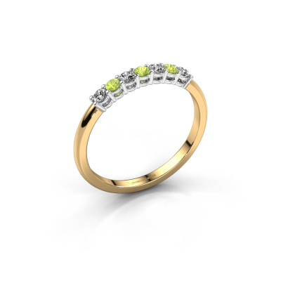 Engagement ring Michelle 7 585 gold peridot 2 mm