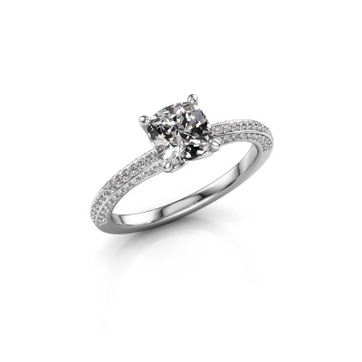 Picture of Engagement ring Elenore rnd 585 white gold diamond 0.50 crt