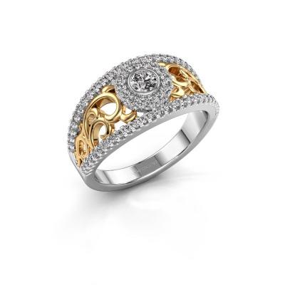 Foto van Ring Lavona 585 witgoud diamant 0.50 crt