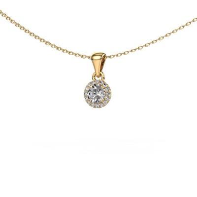 Anhänger Seline rnd 375 Gold Diamant 0.33 crt