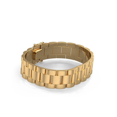 Picture of Rolex style bracelet Erik 16 mm 585 gold