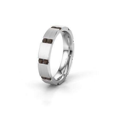 Ehering WH2132L14BM 925 Silber Rauchquarz ±4x2.2 mm