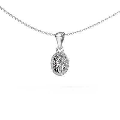 Foto van Hanger Seline 950 platina lab-grown diamant 0.90 crt