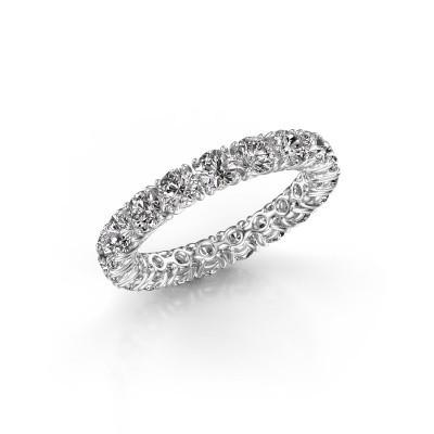 Foto van Aanschuifring Vivienne 3.4 585 witgoud lab-grown diamant 2.700 crt