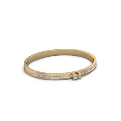 Foto van Armband Desire 585 goud zirkonia 4 mm