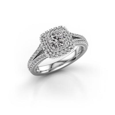 Verlobungsring Annette 950 Platin Lab-grown Diamant 1.072 crt