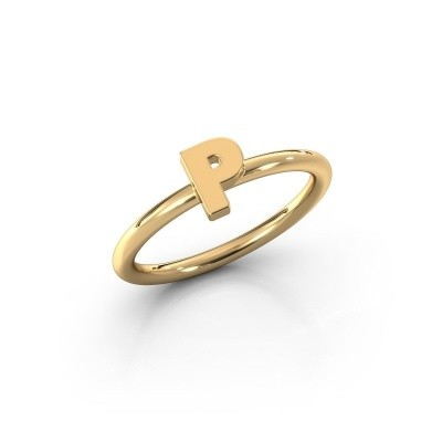 Picture of Ring Initial ring 080 585 gold