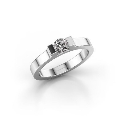 Foto van Verlovingsring Jodee 950 platina diamant 0.30 crt