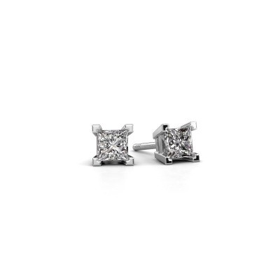 Picture of Stud earrings Ariane 950 platinum diamond 0.80 crt