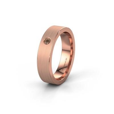 Alliance WH0101L15BM 375 or rose diamant brun ±5x1.5 mm