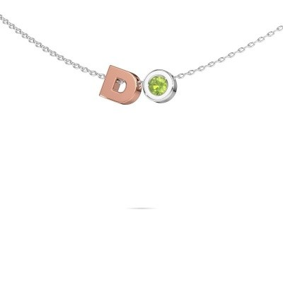 Picture of Initial pendant Initial 030 585 rose gold